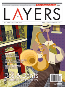 Layers magazine cover