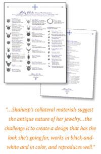 Design Makeover: Designers Revamp a Jewelry Artist's Line Sheet