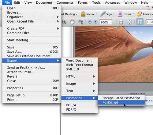 Prepress-Perfect PDFs with Acrobat 8 Professional - Layers