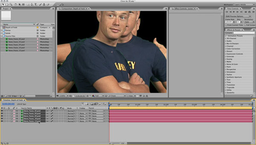 Time for your Close-Up with Adobe After Effects - Layers