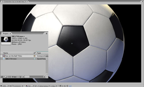 Keep Your Eye on the Ball … 3D in After Effects