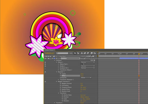 Popping Animation Effect in Adobe After Effects - Layers