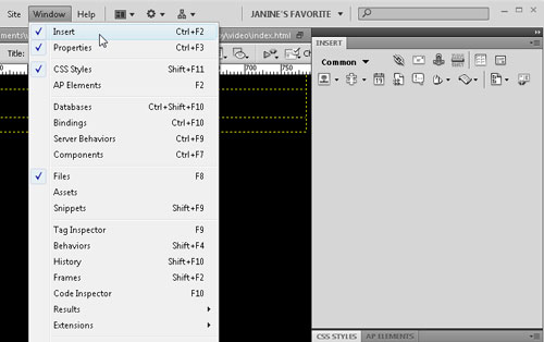 Using QuickTime Videos with Dreamweaver - Layers Magazine