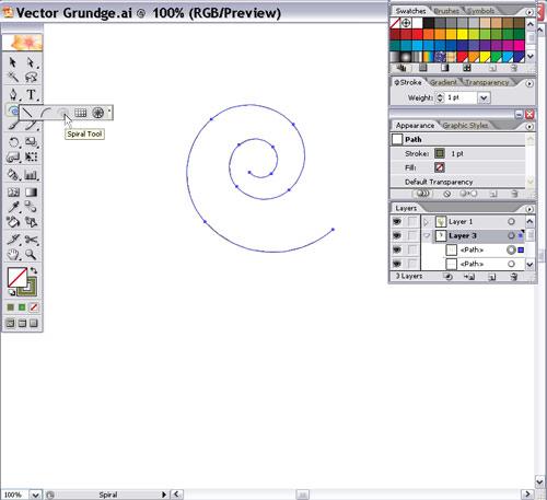 Creating Vector Grunge Artwork in Adobe Illustrator - Layers