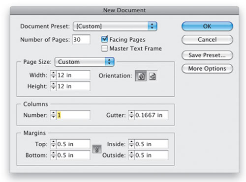 InDesign Photo Album Tutorial