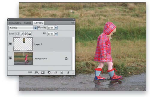 Remove Elements From a Photo in Photoshop CS4 - Layers Magazine