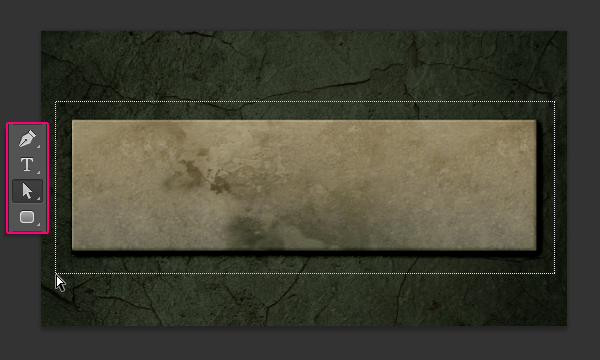 grungy marble effect