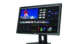 HP Z27x DreamColor Display_DaVinci Screen_Left