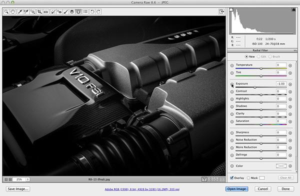 Create Custom Vignettes and Spotlights