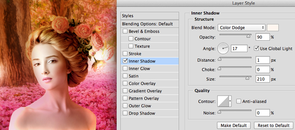 Creating Painterly Light with Blend Modes